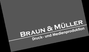 Braun & Müller – Großformatdruck, Werbetechnik, Offsetdruck in Nürnberg