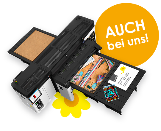 Plattendrucker Latex-Direktdruck in Nürnberg