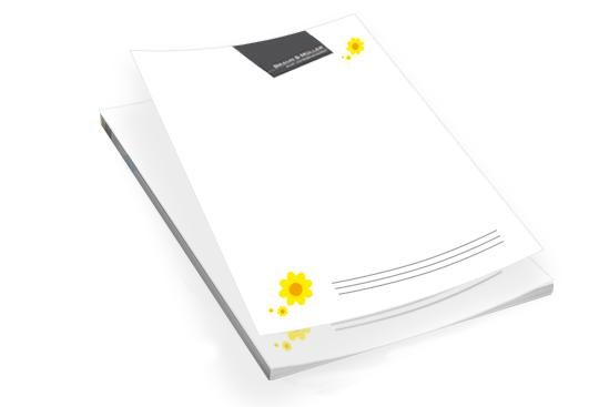 Briefpapier, Geschäftspapier drucken - Offsetdruck, Digitaldruck in Nürnberg