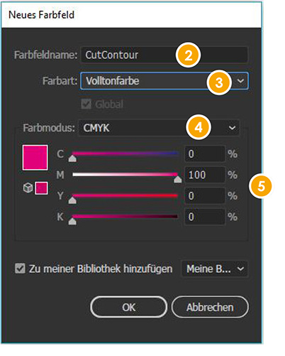cutContour in Adobe Illustrator anlegen